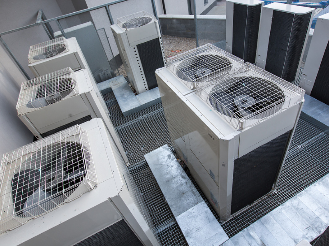 Commercial HVAC installation in Monroe, NC